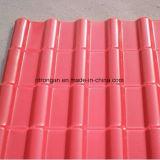 Sythetic 수지 기와 또는 플라스틱 PVC Sheet/ASA 입히는 PVC 루핑 장