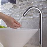 Grifo frío cromado sensor automático del sensor del lavabo del cuarto de baño de Flg solo