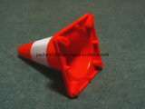 350 mm Seguridad vial Red PVC suave Cono de tráfico