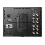 Nahtloses Schalter IPS-Panel 7 Zoll-Sendungs-Monitor für Kamera