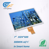 "7 de "" interfaz 700cr TFT LCD LCM 40 Pin Lvds"