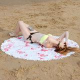 Superfine печатание волокна, круглый пляж Towe (выполненное на заказ)