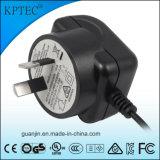 SAAの証明書Adapteが付いているKptec 5V 1A ACアダプター