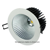 TUV Drivers, 12W COB LED Downlight, Dimmable Downlights