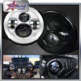 """In het groot DOT SAE 45W CREE 7 """" Halo Headlight 7 de Jeep Headlight DRL van Inch LED voor de Jeep Wrangler Tj/Cj/Fj/Jk van Harley Davidson Motorcycle"""