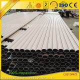 6063-T5 Anodisé / Mill Finish / Powder Coated Aluminium Extrusion Tubing