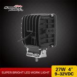 """4 """" 27W indicatore luminoso quadrato ad alto rendimento del lavoro del CREE IP68 LED"""