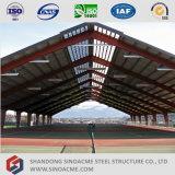 Tettoia portale d'acciaio prefabbricata del centro sportivo del blocco per grafici