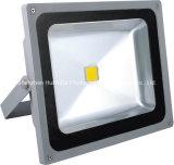 Luz de inundação branca do diodo emissor de luz da ESPIGA da cor 285*245*160mm AC165-265V 50W