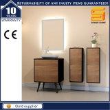 Melamine Mixed Black Paint MDF Cabinet de meubles de salle de bains