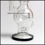 [هفي] 9 '' [مثرشيب] كرة فوّار [رسكلر] زجاجيّة يدخّن [وتر بيب]