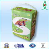 Pâte à lessive en poudre de détergent pour emballage carton