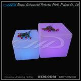 Вращая пластичная мебель формы СИД кубика для крытого или напольного