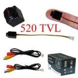 Ubicado cámara mini seguridad de la vigilancia CCTV del precio de fábrica 2g Ocultos 520TVL con audio
