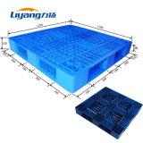 Le PEHD Bleu Bon Marché de haute qualité durable palette plastique creux double face bac