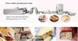 Heißer Verkaufs-Edelstahl-automatische Oblate-Kekserzeugung-Zeile