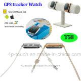 Intelligente GPS-Verfolger-Uhr für Kinder/ältere Personen/Pilgerer (T58)