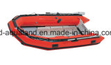 RubberBoot van de Redding van Aqualand 16FT 4.7m Semi-Rigid Opblaasbare/Militaire (470)