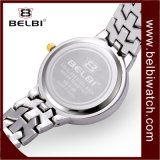 Belbi Dama Casual Watch reloj de diamantes de la serie Natural