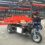 Un triciclo elettrico delle tre rotelle, triciclo di estrazione mineraria del carico