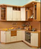 Gabinete mini-cozinha MDF brilhante (ZHUV)