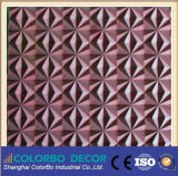 MDF Board do MDF 3D Carved Separating de Metal Soundproof das barreiras