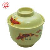Taza útil de la cerámica del vajilla amarillento reciclable respetuoso del medio ambiente de la tarjeta del día de San Valentín