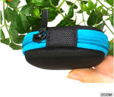 Kleiner runder kundenspezifischer EVA-Kopfhörer-Kasten mit Ineinander greifen-Tasche