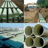 Rohr des Absolvent-FRP für Abwasser-/Trinkwasser-Meerwasser-Behandlung-Rohr