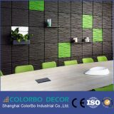 Design novo Polyester Sound Absorber Acoustic Wall Panel 3D