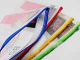 Sac de crayon de maille de PVC coloré par coutume