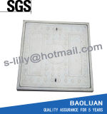 Plástico reforçado com fibra de vidro plástico da tampa de inspeção quadrados en124 D400