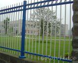 アルミニウム錬鉄の金属の鋼鉄塀の装飾的な裏庭の庭の塀