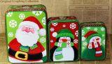 По-разному виды жестяной коробки для упаковывать подарков праздника