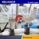 目のゲルのプラスチックまたはガラス容器の満ち、キャッピング機械