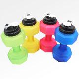 Бисфенол-А 2200мл спортивного фитнеса гантель формы бутылка воды