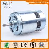 micro motore elettrico di CC della spazzola di 12V 24V 0.11A 3650rpm