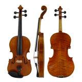 Les performances de maître de l'Allemagne violon violon 4/4 avec de haut grade cas