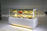 De verticale Ijskast van de Showcase van de Cake met Uitstekende kwaliteit