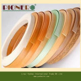 1X22mm Wood Grain pvc Edge Banding voor meubilair