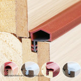 Tipo de lâmpada de fenda de vedação da porta de madeira