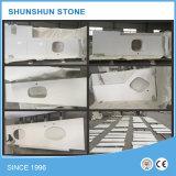Partie supérieure du comptoir et dessus en pierre blancs de vanité pour la salle de bains et la cuisine