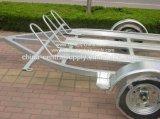 卸し売り買物の製造業者の軽量3.4m二重オートバイのトレーラーCe340
