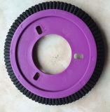 0.4mm Lk機械(YY-608)のための黒いPBTの車輪の織物のブラシ