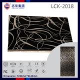 E1 Grade UV haute brillance enduit PVC MDF / contre-plaqué pour porte du Cabinet (LCK 2018)