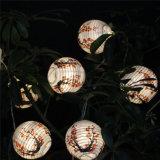 Мини-китайский японской бумаги фонарики светодиодные лампы освещения строки с питанием от батареи