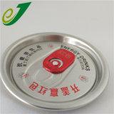 金属のソーダ缶のふたの刻まれるアルミニウムふたレーザーはキャップできる