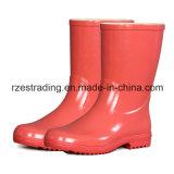 Ботинки дождя химически безопасности 100% резиновый работая