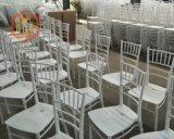 Banquet Sillas Chiavari Tiffany de mariage de résine de la couleur rouge pp