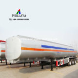 El betún líquido calefacción camión cisterna semi remolque del depósito de asfalto